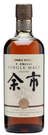 Nikka Whisky Whisky Single Malt Yoichi 15 Year